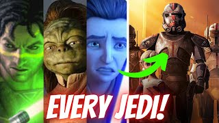 Every MAJOR Jedi Still Alive During The Bad Batch (CANON) | Star Wars Explained