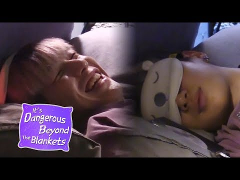 Kang Daniel Gets Ready to Sleep~♥ [It's Dangerous Beyond The Blankets Ep 4]