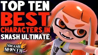 Top Ten Best Characters in Super Smash Bros Ultimate - rabbidluigi