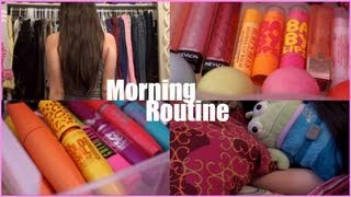 Funny Morning Routine For School + Makeup Collection 2013