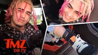 Lil Pump Doesn't Care About The Police | TMZ TV
