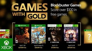 Games with Gold going into Overdrive in April