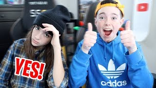 SISTER SAYS YES TO EVERYTHING FOR 24 HOURS!!