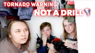 TORNADO WARNING (This Is Not A Drill) | Family 5 Vlogs