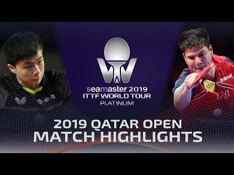 Lin Yun-Ju vs Dimitrij Ovtcharov | 2019 ITTF Qatar Open Highlights (R16)