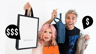 Designer vs. Budget Baby Clothes Shopping Spree! | OMG We're Having A Baby