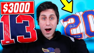 UNBOXING A $3000 SIGNED MLB JERSEY MYSTERY BOX! *INSANE*