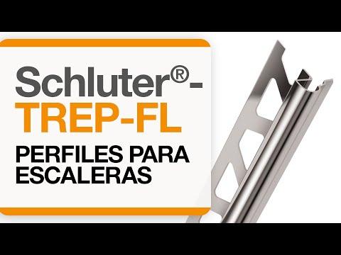 Cómo instalar un remate para cantos de cerámica sobre escaleras: Schluter®-TREP-FL
