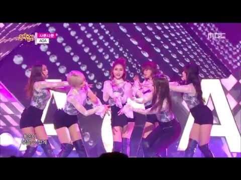 AOA - 사뿐사뿐 ( like a cat ) 교차편집 ( stage mix )