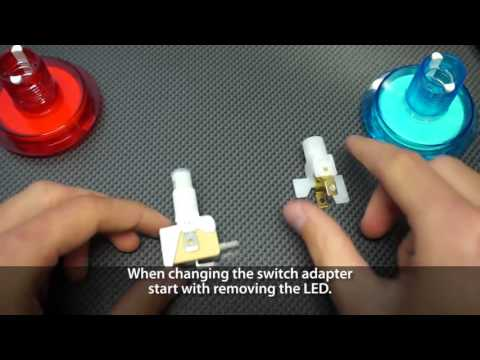 How to change switch and switch adapter for Catch the Light Combo