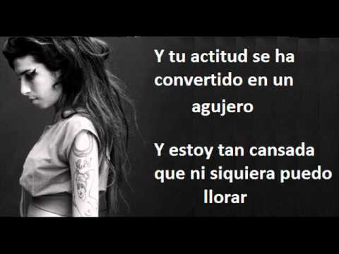 Amy Winehouse - What it is (Letra español)