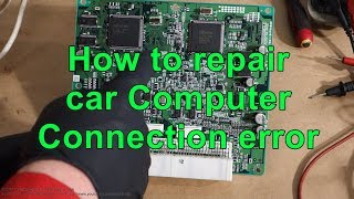 Lexus SC400 ECU damage  Tried to repair it but board is