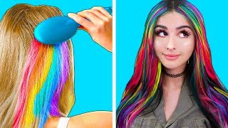Trying HAIR LIFE HACKS to see if they Work