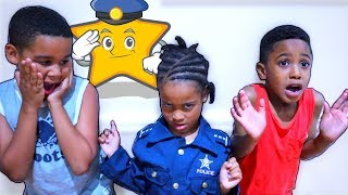 Police Girl Johny Johny Yes Papa (for using her Cell Phone, Laptop, and Tablet)