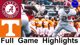 #2 Alabama vs Tennessee Highlights | College Football Week 8 | 2020 College Football Highlights