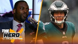 Michael Vick on Nick Foles' impact for Eagles, talks Lamar Jackson's success & more | NFL | THE HERD
