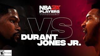 NBA2K Tournament Full Game Highlights: Kevin Durant vs. Derrick Jones Jr.