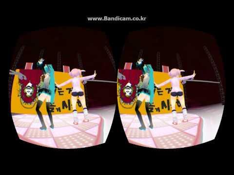 Oculus rift MMD demo マトリョシカ