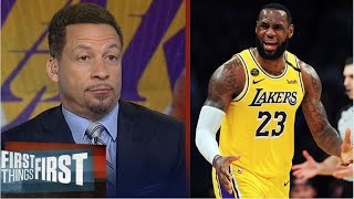 Chris Broussard SHOCKED LeBron's 20 points not enough as Lakers lose Raptors 107-92; Lowry: 33 Pts
