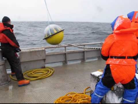 TRIAXYS Buoy Deployment Norway