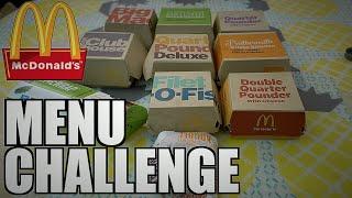 MCDONALDS MENU CHALLENGE | 5,320 CALORIES