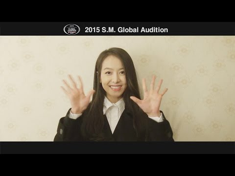 2015 S.M. GLOBAL AUDITION 'f(Victoria) MESSAGE'
