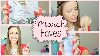 MARCH FAVORITES || Tea, Makeup, Recipe, Shower & MORE, march2014favs