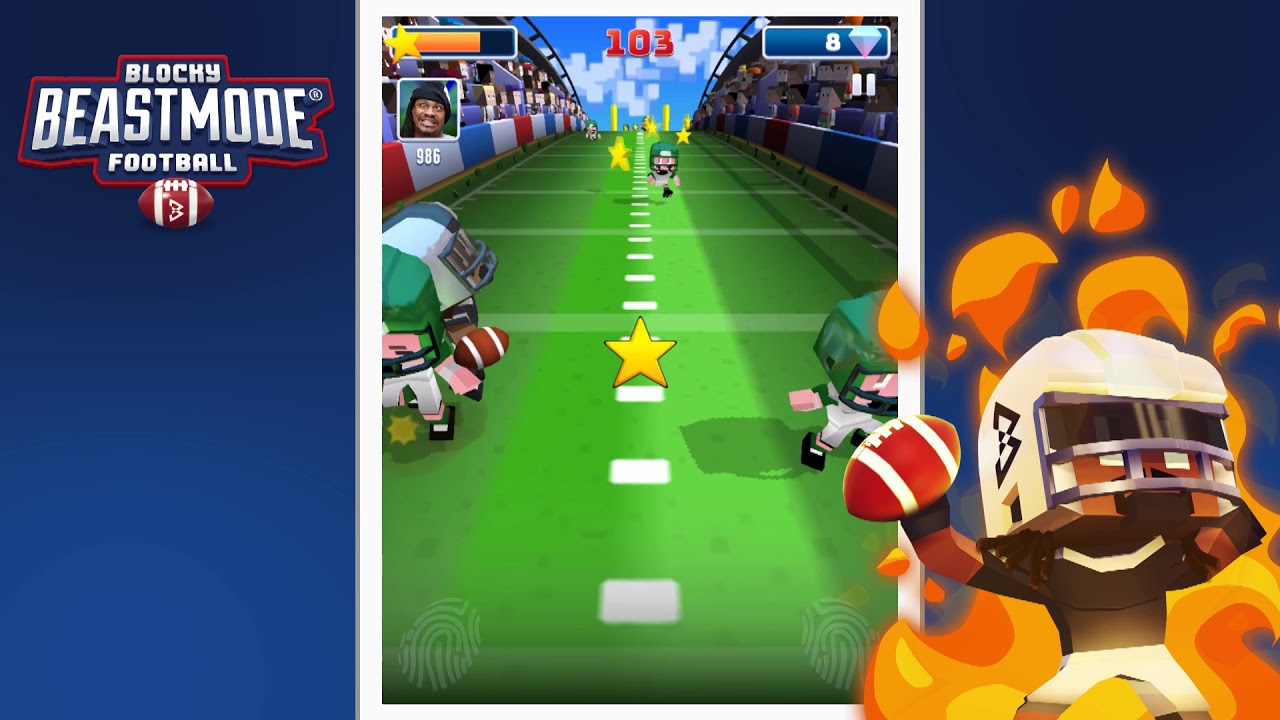 Play Blocky BEASTMODE® Football on PC 2