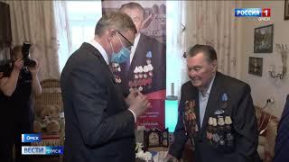 Сотый день рождения сегодня отмечает почетный гражданин Омска Николай Грицевич
