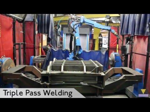 Robotic Welding - 2,400 lb Weldment