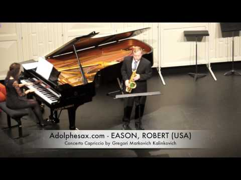 EASON, ROBERT Concerto Capriccio by Gregori Markovich Kalinkovich