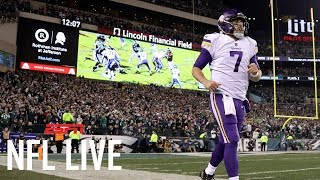 Case Keenum likely to be the Minnesota Vikings' starting QB next year | NFL Live | ESPN