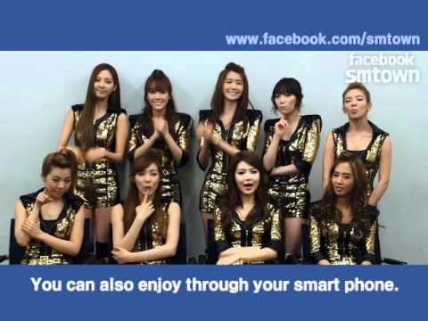 FACEBOOK SMTOWN OPEN INTERVIEW.(BY Girls' Generation)