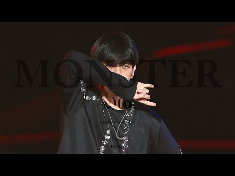 160621 KBS Open concert EXO - Monster (백현 focus)
