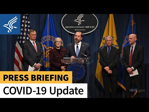 Press Briefing: Update on U.S. Response to COVID-19 | February 25, 2020
