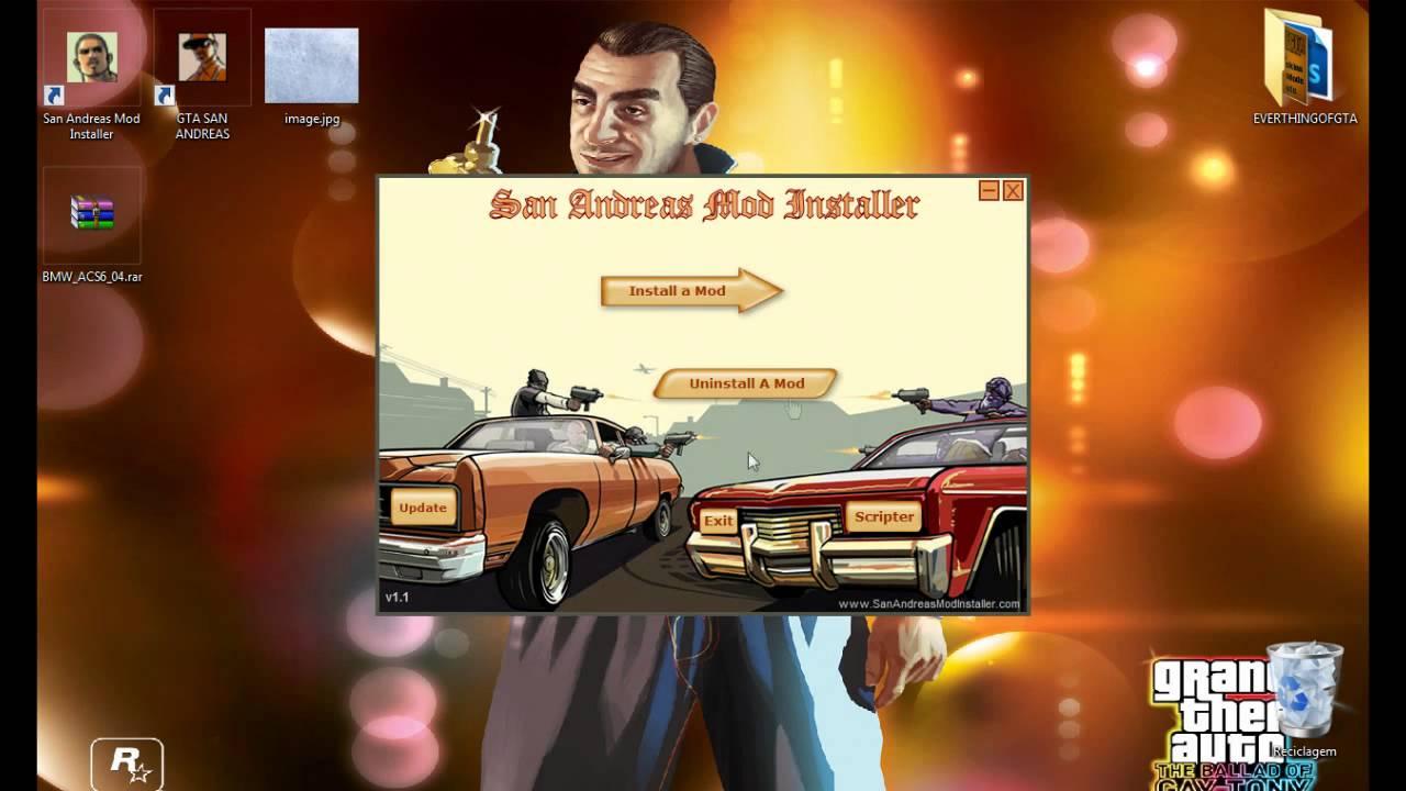 Installer: San Andreas Mod Installer Download
