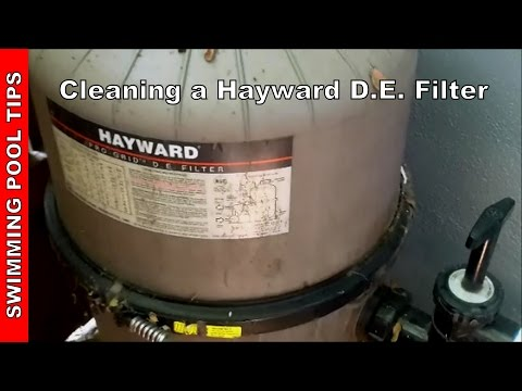 Cleaning A Hayward Pro Grid Micro Clear Super Star Clear