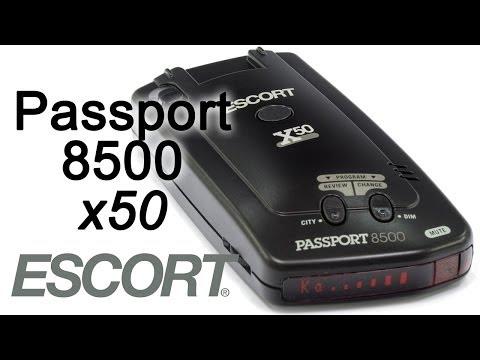 how to update escort 8500 x50