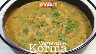 Vegetable Korma (kurma) | Ventuno Home Cooking