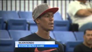 Rondo Says He Will Never Play For The Miami Heat!