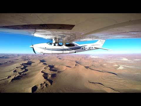 Scenic Air - Incredible Flight Over Sossusvlei - Namibia