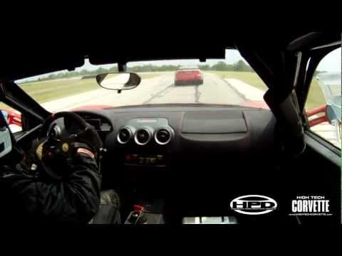 Ferrari 430 Challenge car at Texas World Speedway