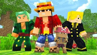 Minecraft One Piece Tập 49 - Băng Hải Tặc Mạnh Nhất Tân Thế Giới | POBBrose ✔