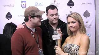 Rich Sommer, Michael Gladis (Mad Men) at the World Poker Tour Celebrity Invitational