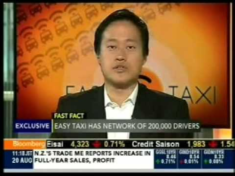 Interview Easy Taxi for Bloomberg TV, On The Move - Dennis Wang