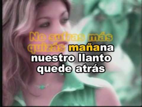 Y VOLVERE- LOS ANGELES NEGROS KARAOKE