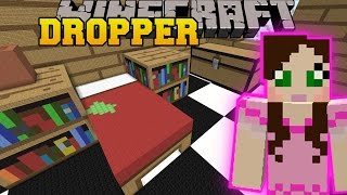 Minecraft: GIANT HOUSE DROPPER! - TALLCRAFT DROPPER - Custom Map [12]