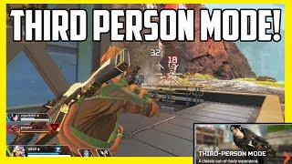 Apex Legends Third Person Mode Gameplay!