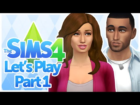 Let's Play The Sims 4 - Part 1 (The Papaya Family)