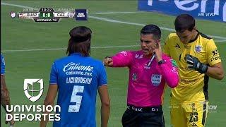 Pablo Aguilar, con polémica, marca para Cruz Azul sobre Lobos